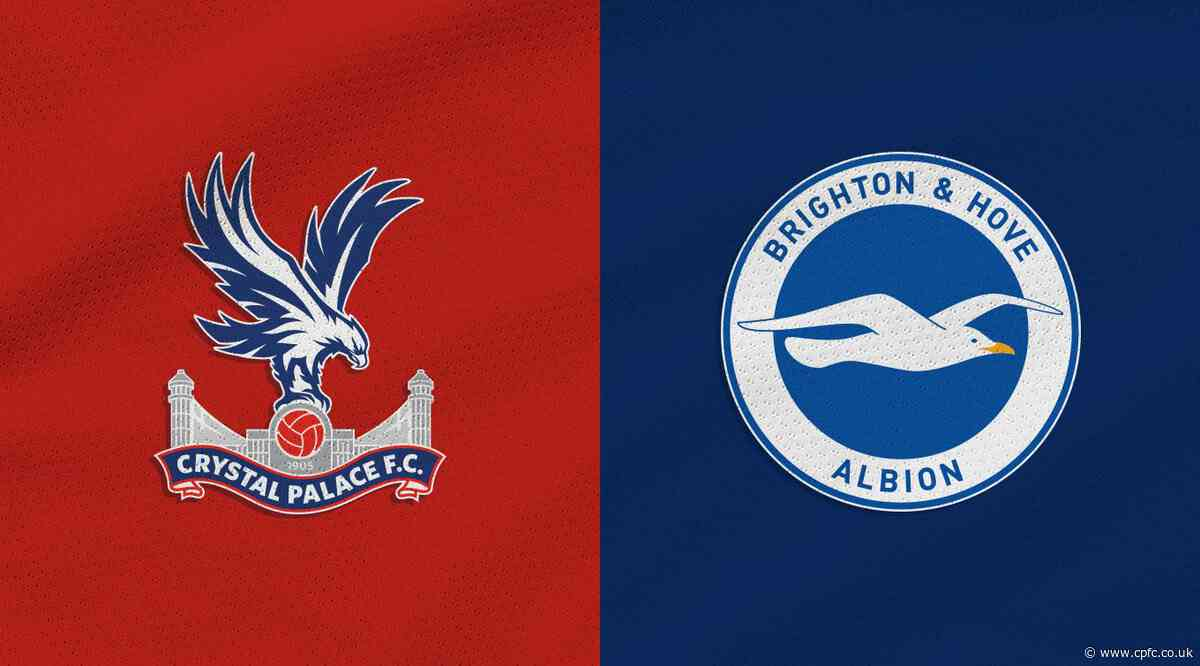 Handful of tickets left for Palace's under the lights Brighton clash
