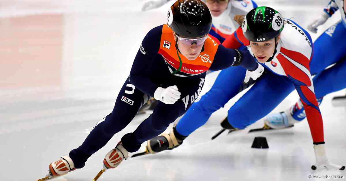 Nederlandse shorttrackers goed begonnen op World Cup in Shanghai