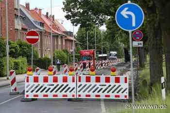 Münster: Kanalstraße zwischen Lublinring und Wibbeltstraße ab Montag voll gesperrt