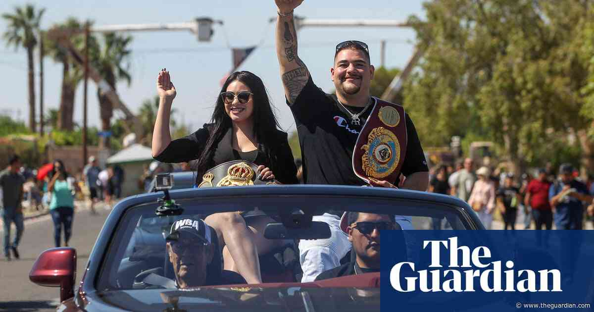 'We represent both countries': the rise of Andy Ruiz, a cross-border champion