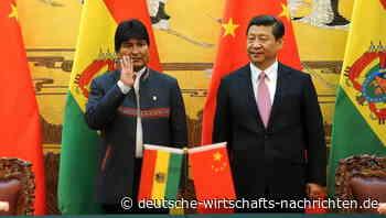 Lithium-Reserven in Bolivien: Morales Sturz ist ein herber Rückschlag für China