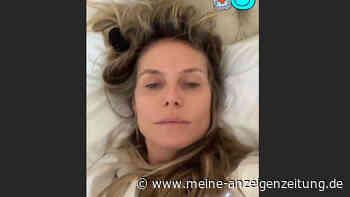 Heidi Klum gibt intime Einblicke aus Bett - für manch einen könnte das zu viel sein