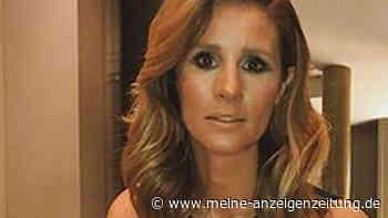 Mareile Höppner posiert in Durchsichtig-Look - aber mancher schaut eher auf den Hintergrund