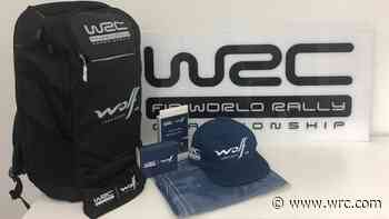 WIN: Wolf Lubricants WRC goodie bag