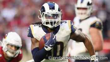 "Todd Gurley's ""been fine"" with heavier workload"