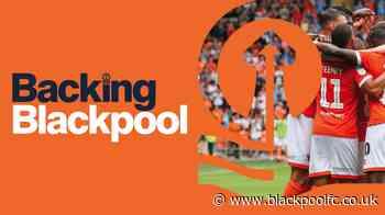 Backing Blackpool