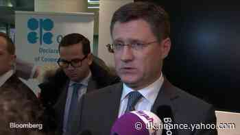 Russian Energy Minister Says OPEC+ JMMC Recommends Oil Cut