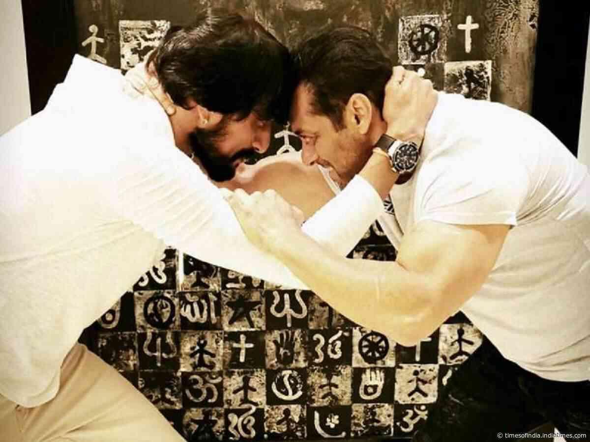 Sudeep on Dabangg 3 climax with Salman Khan