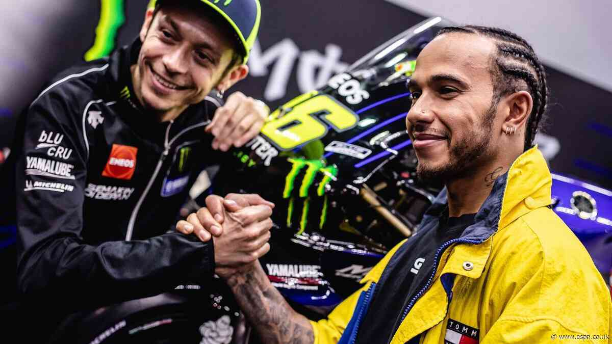 Valentino Rossi gets seat fitting at Mercedes