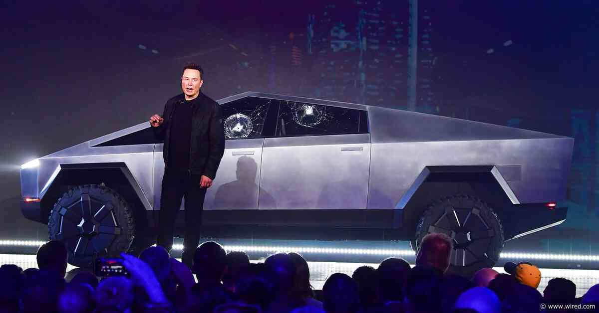 Gadget Lab Podcast: Tesla's Lasers, the Cybertruck, and Travel Tips