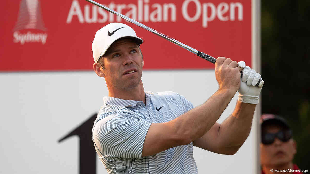 Casey one back of Aussie Jones through two rounds at Australian Open