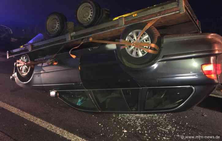 Kirrweiler – Schwerer Verkehrsunfall auf der #A65