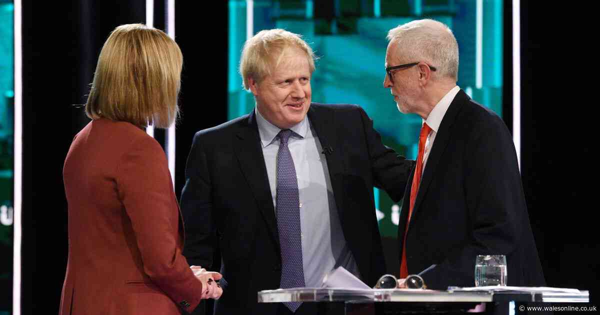 Rate Boris Johnson and Jeremy Corbyn in the BBC1 general election leaders' debate