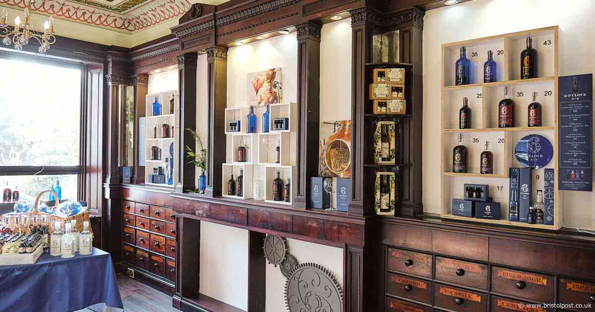A stylish pop-up gin shop has opened in Bristol perfect for Christmas shopping