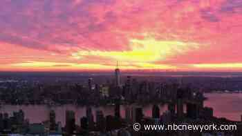 Chopper 4 Captures Absolutely Stunning Friday Sunrise