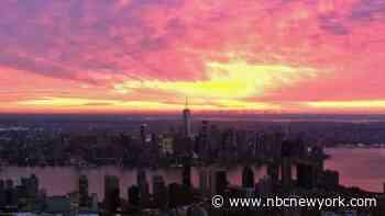 Chopper 4 Captures Absolutely Stunning Friday Sunrise