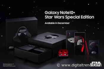Samsung's Star Wars edition Galaxy Note 10 Plus is no longer far, far away
