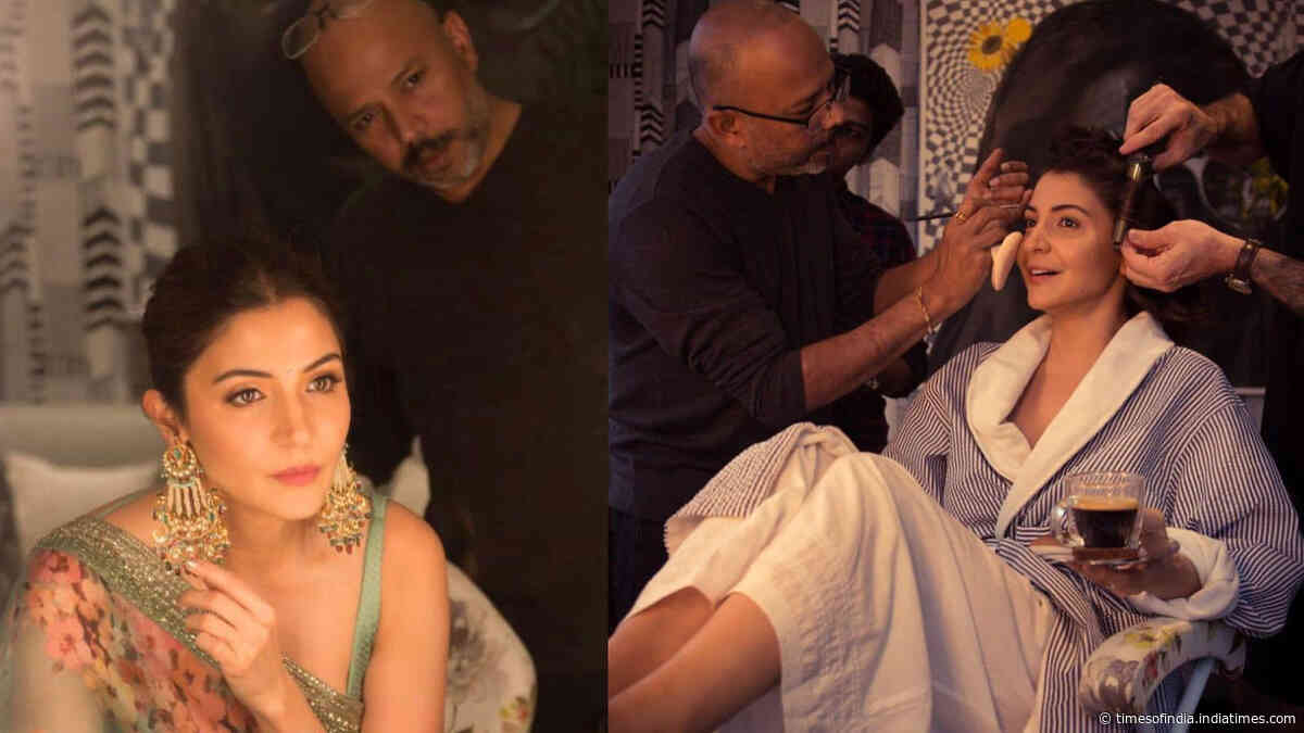 Anushka Sharma pens down a heartfelt note on the demise of her make-up artist Subhash Vangal