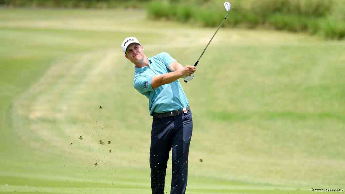 Hill cards 64 to take Mauritius Open lead