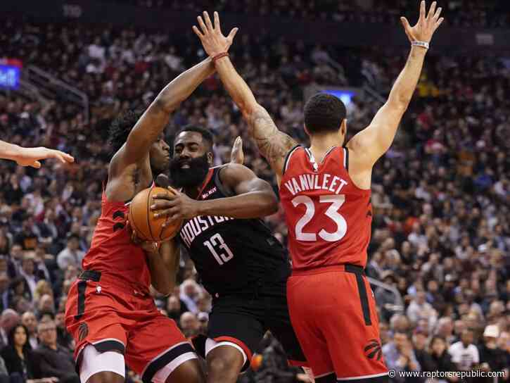 Raptors star-stopping defence falls short, rebounding woes emerge in Rockets loss