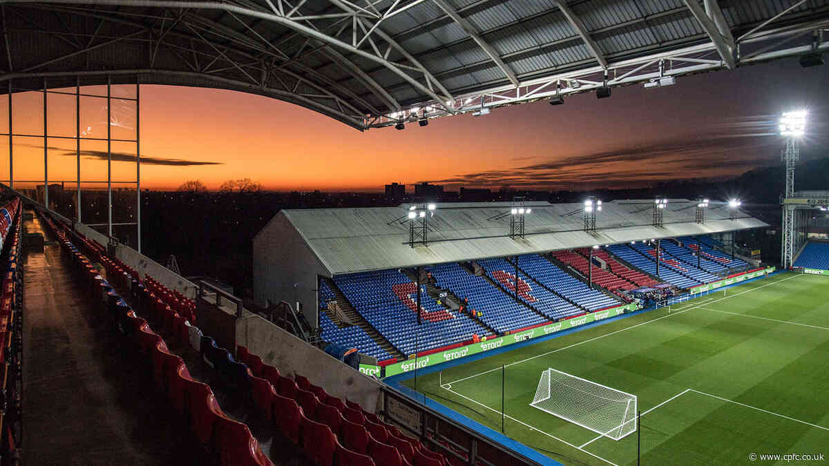 Grab one of few remaining seats for Palace v Brighton rivalry