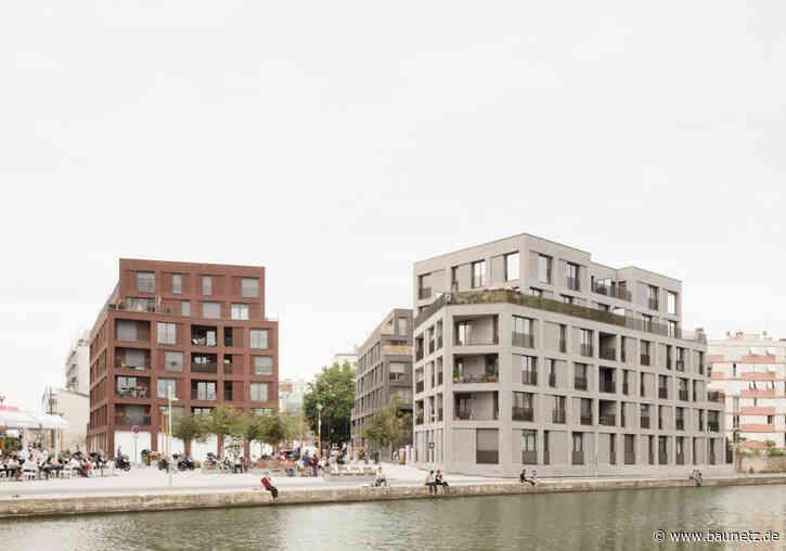Burgen aus Backstein bei Paris  - Sozialer Wohnungsbau von Avenier Cornejo