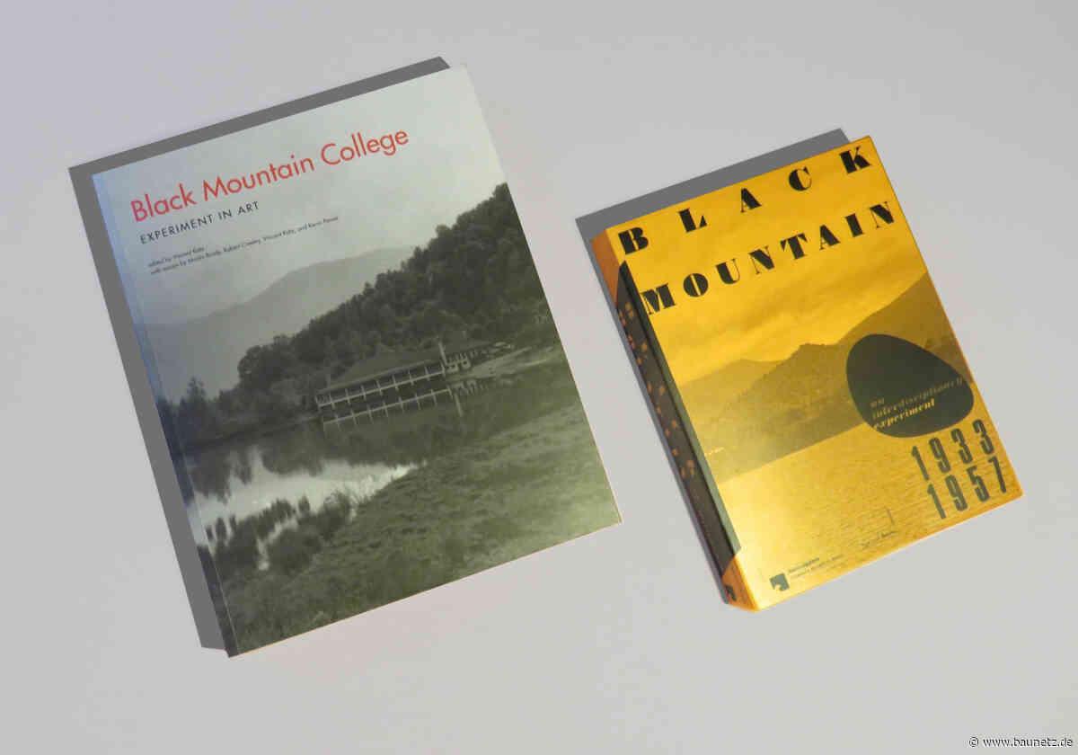 Buchtipp: Black Mountain College  - Zwei Wiederveröffentlichungen zum Bauhaus-Jahr