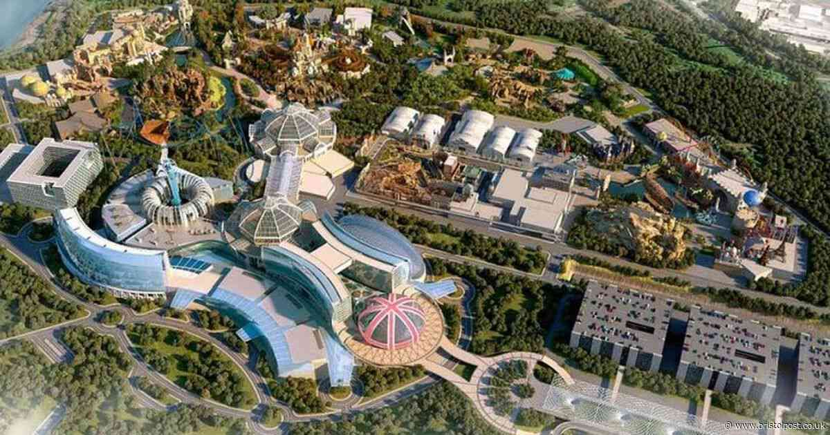 First images of what Britain's new £3.5billion theme park will look like