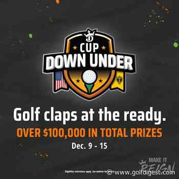 DraftKings to offer first-ever Presidents Cup and Ryder Cup contests, signaling the continued growth in golf DFS
