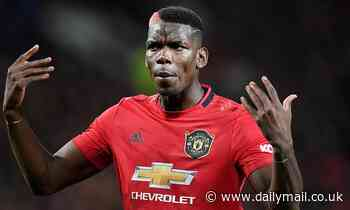 Manchester United star Paul Pogba 'determined to leave England next summer'
