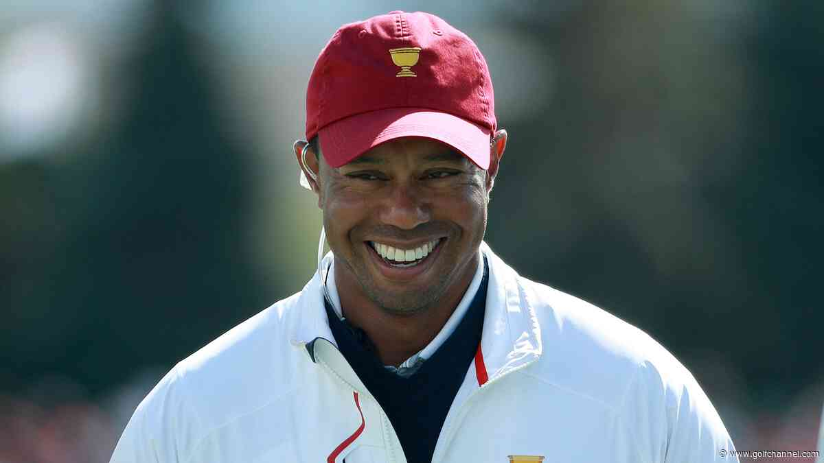 Tour responds to Tiger's question about when he can give advice at Presidents Cup