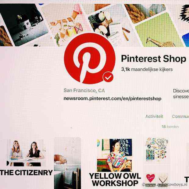 Pinterest opent online marktplaats 'Pinterest Shop'