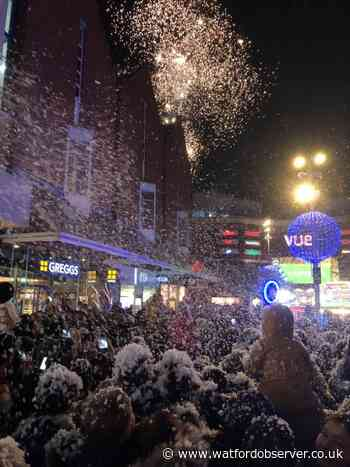 Harrow Town Centre celebrates Christmas early with its Christmas party