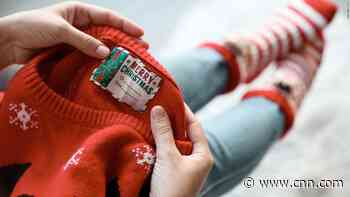 Christmas sweaters are 'adding to plastic pollution'