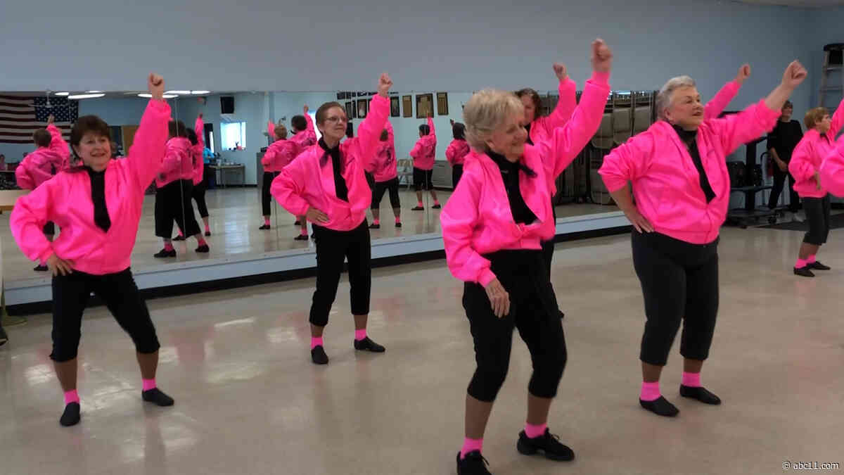 New Jersey senior dance troop stays fit and youthful through music