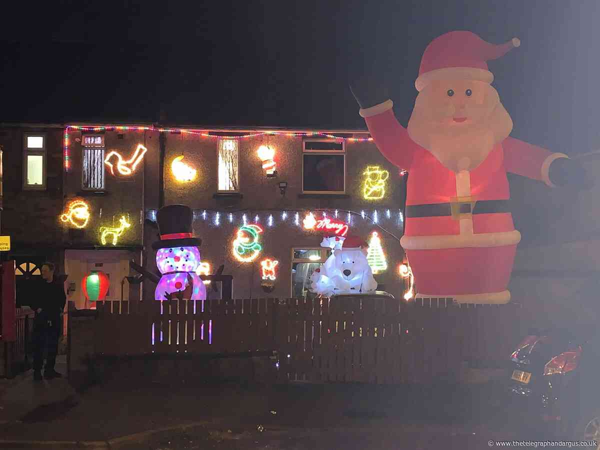 Is this Bradford's most festive house? Send us your Christmas decorations pictures