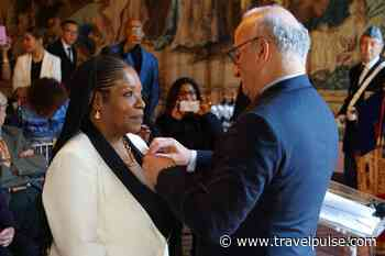 Martinique's Wiltord Joins French Legion of Honor