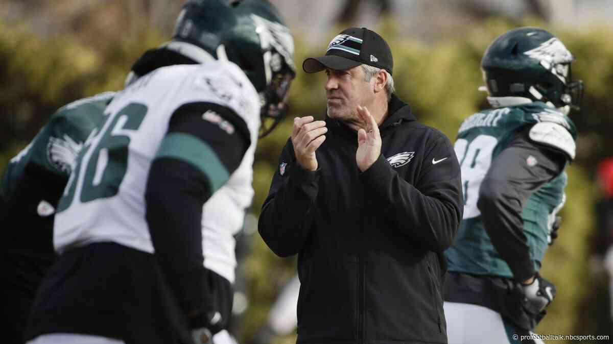 "Eagles players felt ""sense of urgency"" in Thursday's padded practice"