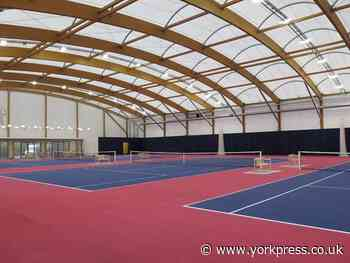 Plans for indoor tennis centre in York get the green light