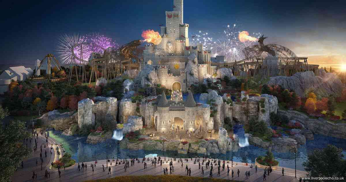 Backlash after latest images of 'UK's Disneyworld' The London Resort are released