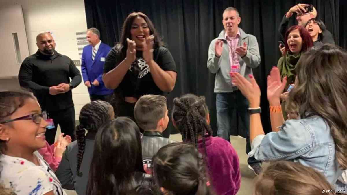 Second grade class behind viral remix of Lizzo song 'Truth Hurts' meets singer