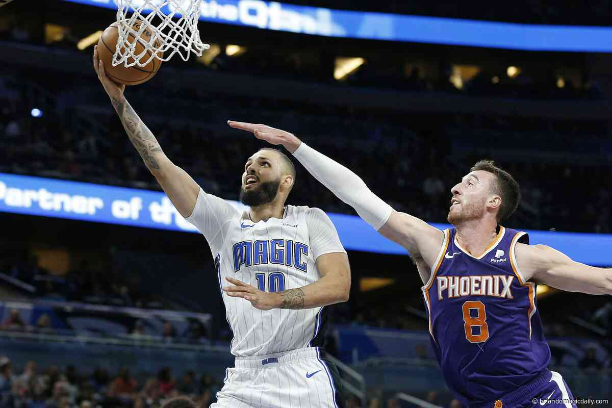 Orlando Magic guard Evan Fournier is putting the league on notice