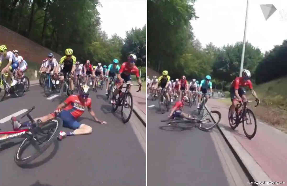 Watch: This Velon recap shows some of the amazing bike-handling skills pro riders have