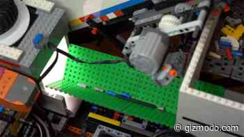 A Neural Network Powers This Lego-Built Brick Sorter That Can Recognize Every Piece Ever Made