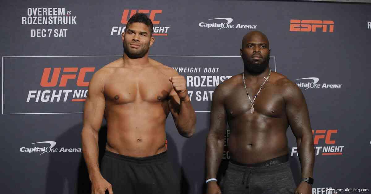 Video: UFC on ESPN 7 weigh-in staredowns