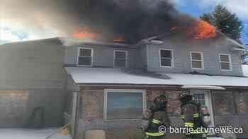 Fire destroys Collingwood home