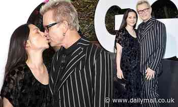 Billy Idol and China Chow attend GQ Men of the Year Celebration
