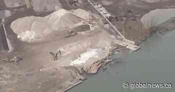 Uranium-tainted site falls into Detroit River along Canada-U.S. border