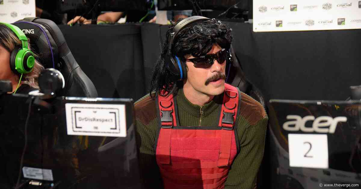 Twitch's Dr Disrespect is developing a TV series based on his streaming persona
