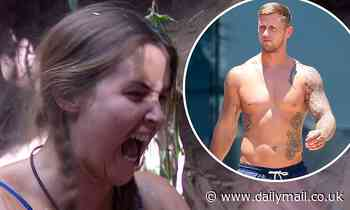 I'm A Celebrity: Jacqueline Jossa hammers at block of ice